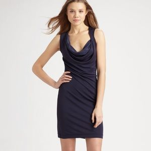 Theory Cowlneck Dress